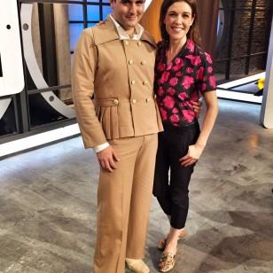 Palomo Spain con Raquel Sánchez Silva en 'Likes'