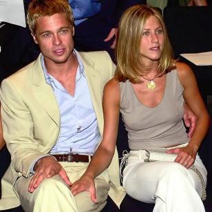 Jennifer Aniston y Brad Pitt, amigos