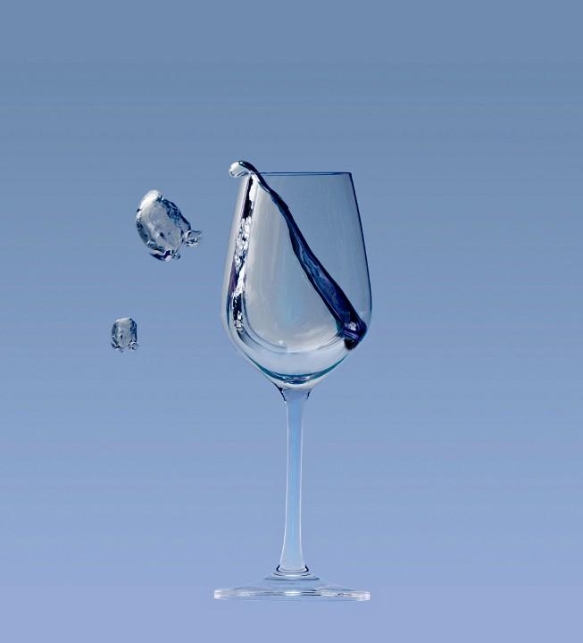 Beber agua s ayuda a perder peso for Copa de agua