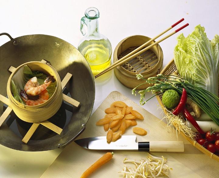 Verduras al wok