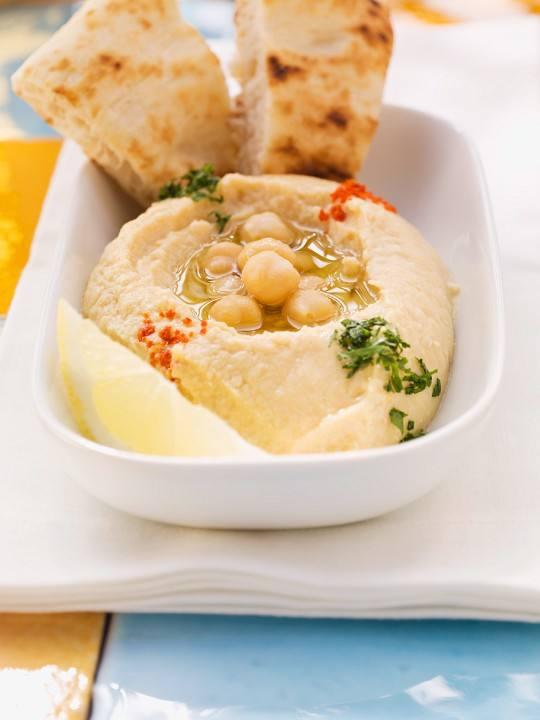 Receta del hummus de cocido