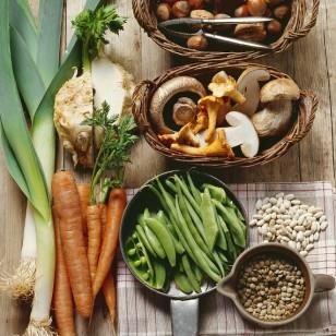 Bodegón de vegetales