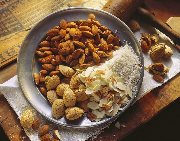 Almendras, alimentos ricos en ácido fítico