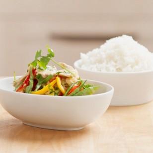 Arroz y verduras