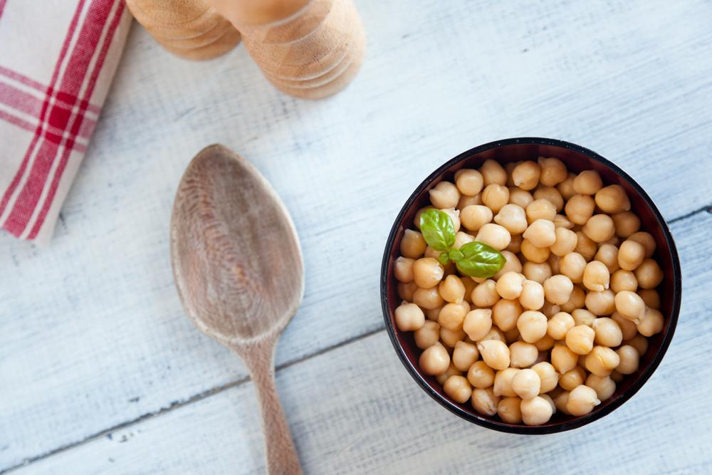 Alimentos ricos en cinc: garbanzos