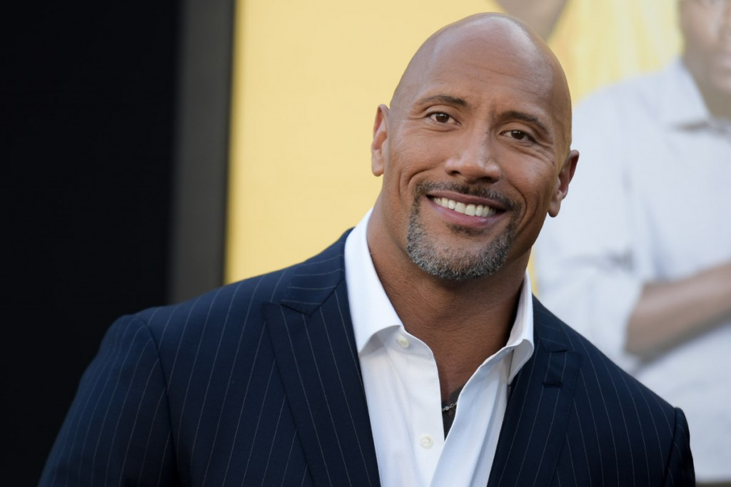 "Actor Dwayne Johnson attending the LA Premiere of ""Central Intelligence"" on Friday, June 10, 2016, in Los Angeles."