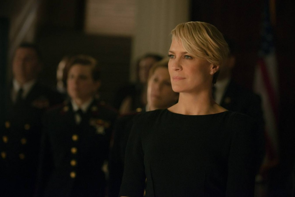 Robin Wright, protagonista de House of Cards