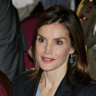 Letizia y su look 'working girl' de otoño