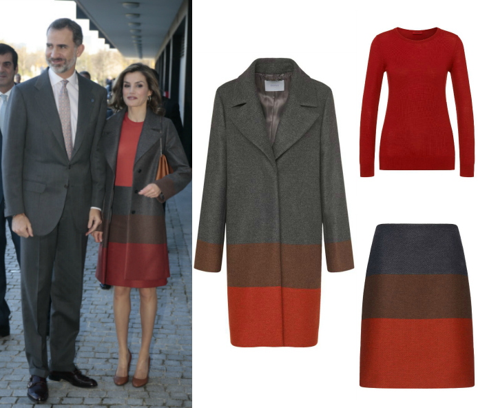 El look de Hugo Boss de Letizia