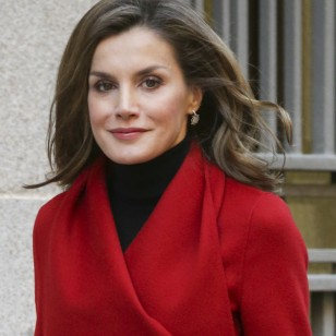 Spain's Queen Letizia during working meeting with the Asociacion Española Contra el Cancer, in Madrid, on Thursday 21th December 2017.