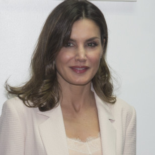 "Spanish Queen Letizia Ortiz visits "" Oficina Tecnica de Cooperacion "" in Port Prince during her official visit to Haiti on Tuesday 22 May 2018"