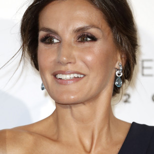 Spanish Quenn Letizia attending the opening of the season of the Royal Theatre 2018 / 2019 in Madrid on Wednesday , 19 September 2018