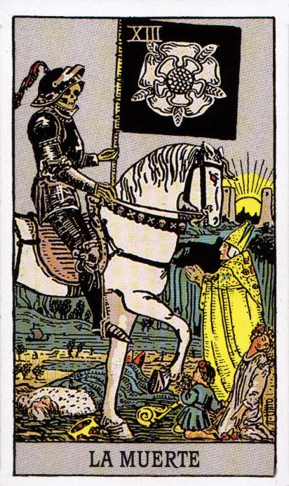 Significado de las cartas del Tarot: La muerte