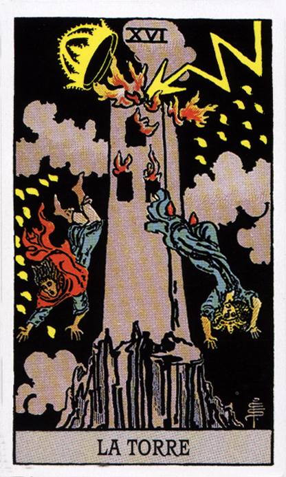 Cartas del Tarot: La Torre