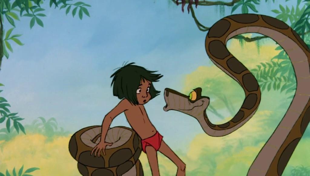 La serpiente Kaa, en el Libro de la Selva
