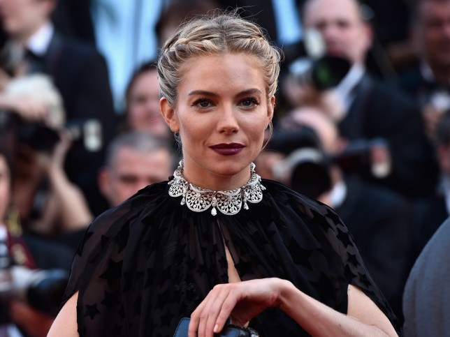 "CANNES, FRANCE - MAY 17: Actress Sienna Miller attends the Premiere of ""Carol"" during the 68th annual Cannes Film Festival on May 17, 2015 in Cannes, France.  (Photo by Pascal Le Segretain/Getty Images)"