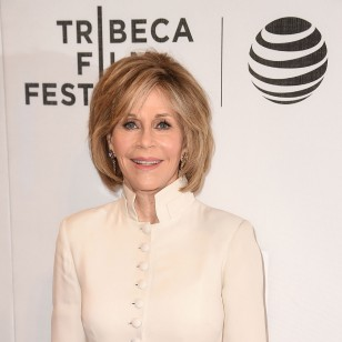"NEW YORK, NEW YORK - APRIL 13:  Actress Jane Fonda attends the ""First Monday In May"" world premiere during the 2016 Tribeca Film Festival opening night at BMCC John Zuccotti Theater on April 13, 2016 in New York City.  (Photo by Nicholas Hunt/Getty Images for Tribeca Film Festival)"
