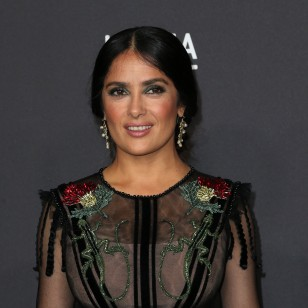 LOS ANGELES, CA - OCTOBER 29:  Actress Salma Hayek attends the 2016 LACMA Art + Film Gala honoring Robert Irwin and Kathryn Bigelow presented by Gucci at LACMA on October 29, 2016 in Los Angeles, California.  (Photo by Frederick M. Brown/Getty Images)