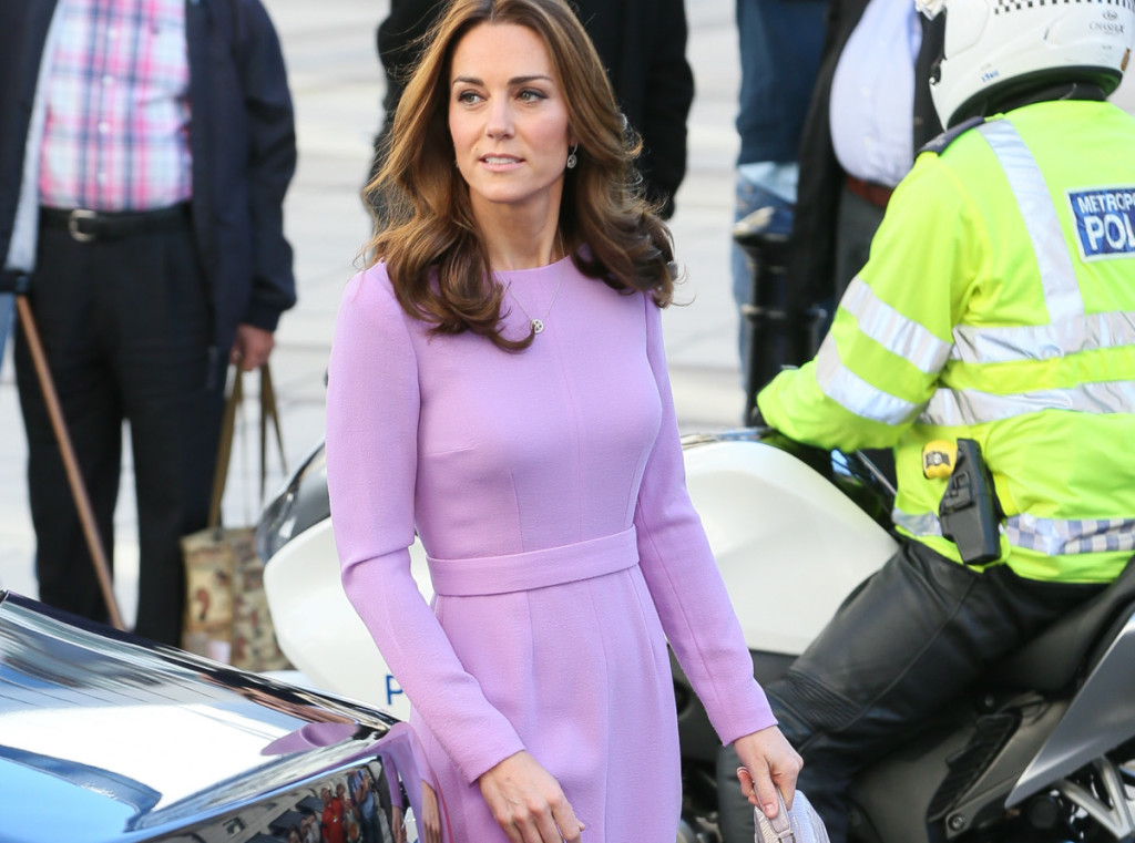 Britain's Kate Middleton, the Duchess of Cambridge at the Global Ministerial Mental Health Summit in London, Britain, October 9, 2018