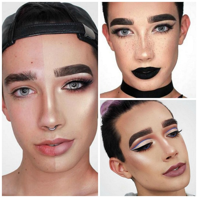 collage james charles dos