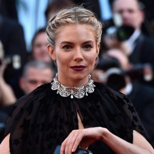 """CANNES, FRANCE - MAY 17: Actress Sienna Miller attends the Premiere of """"Carol"""" during the 68th annual Cannes Film Festival on May 17, 2015 in Cannes, France.  (Photo by Pascal Le Segretain/Getty Images)"""