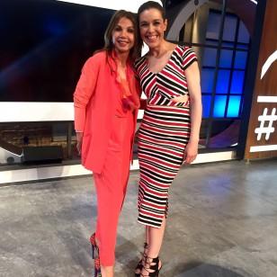 Victoria Abril, con Raquel Sánchez Silva