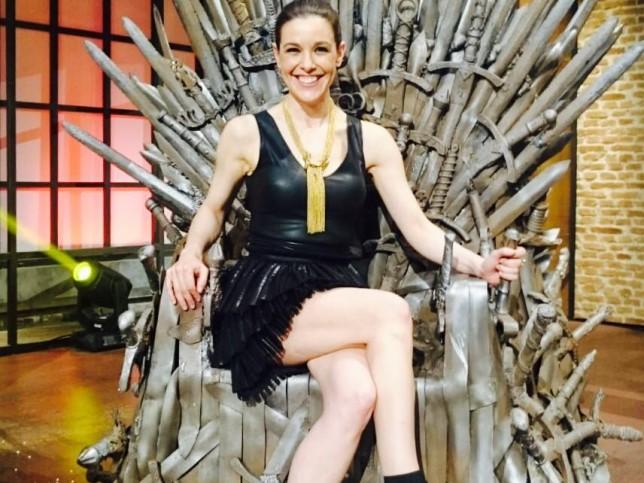 Raquel Sánchez Silva, en 'Likes', sobre el trono de hierro de 'Juego de tronos'