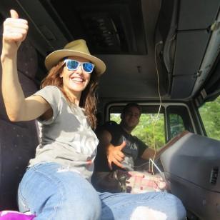 El viaje de Raquel Sánchez Silva a las cataratas de Iguazú, vistas desde Argentina