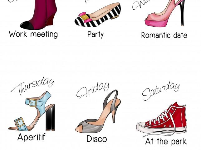 Un zapato para cada día