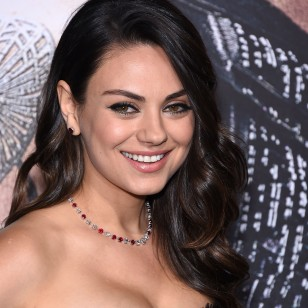 Actress Mila Kunis at the premiere of Warner Bros. Pictures' 'Jupiter Ascending' on Monday, Feb. 2, 2015 in Hollywood, Calif