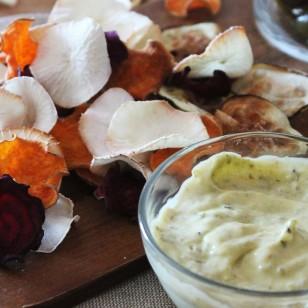 Nuestra receta de la semana... ¡Chips de verduras!